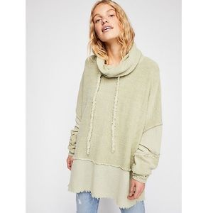 Free people Zoe pullover matcha nwot